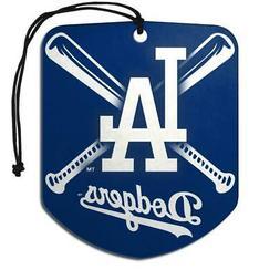 Los Angeles Dodgers Shield Design Air Freshener 2 Pack  MLB