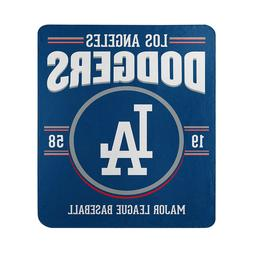 Los Angeles Dodgers Southpaw License Fleece Throw Blanket 50