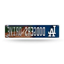 "Los Angeles Dodgers Street Sign NEW 4""X16"" ""Dodgers Drive"" M"
