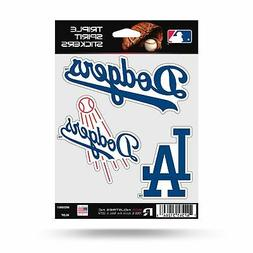 Los Angeles Dodgers Triple Sticker Multi Decal Spirit Sheet