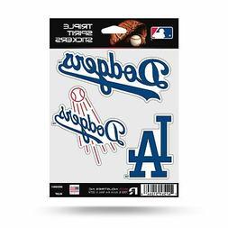 Los Angeles Dodgers Triple Sticker Multi Decal Spirit Sheet
