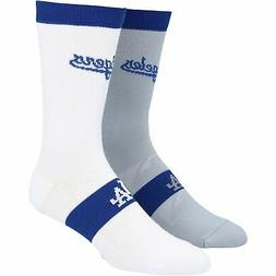 Los Angeles Dodgers Two-Pack Home & Away Uniform Crew Socks