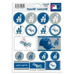Los Angeles Dodgers Vinyl Die-Cut Sticker Set / Decal Sheet