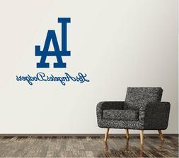 Los Angeles Dodgers Wall Decal Logo Baseball MLB Sticker Vin