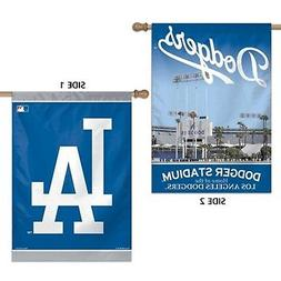Los Angeles Dodgers WC Premium 2-sided 28x40 Banner Outdoor