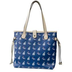 Los Angeles Dodgers Woman's Patterned Tote Hand Bag NFL Auth