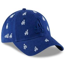 Los Angeles Dodgers Women's New Era 9TWENTY Logo Scatter Dad