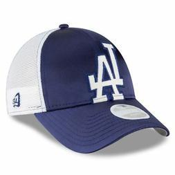 Los Angeles Dodgers Hat Satin Chic Women's Adjustable Cap By