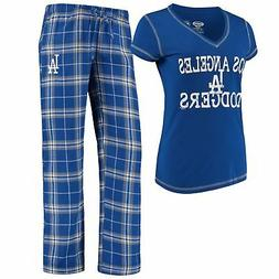 Los Angeles Dodgers Women's MLB Duo Shirt And Pants Pajama S