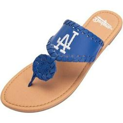 Los Angeles Dodgers Women's Monotone Whipstitch Sandals