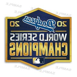 Los Angeles Dodgers World Series 2020 Champions  Precision C
