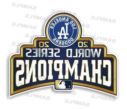 Los Angeles Dodgers World Series 2020 Champions Precision Cu