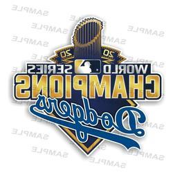 Los Angeles Dodgers World Series Champions 2020 Precision Cu