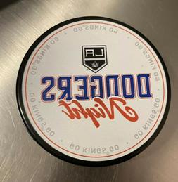 Los Angeles Kings LA DODGERS NIGHT Official Hockey Puck 2/12