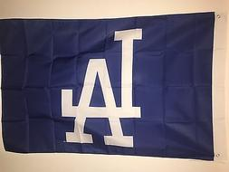Los Angeles L A Dodgers Flag 3x5 Polyester