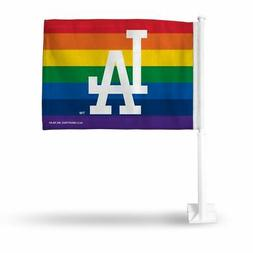 Los Angeles L.A. Dodgers PRIDE MLB 11X14 Window Mount 2-Side