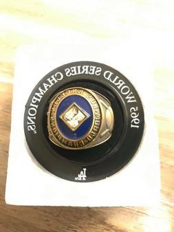 Los Angeles LA Dodgers 1965 World Champions Replica Ring SGA