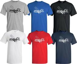 Los Angeles LA Dodgers Ball Design MLB T-Shirt Multi Colors