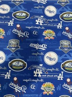 los angeles la dodgers fabric 1 2