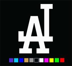 Los Angeles LA Dodgers Logo Vinyl Die Cut Decal Sticker