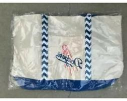 LOs Angeles LA Dodgers Reversible  Canvas Beach Bag 06/20 SG