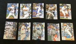 Lot of 50 Los Angeles Dodgers Baseball Cards