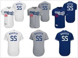 Men's Los Angeles Dodgers #22 Clayton Kershaw Flex Base Jers
