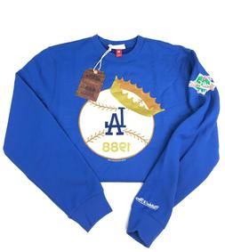 Mitchell & Ness Los Angeles LA Dodgers Crewneck Sweater Worl