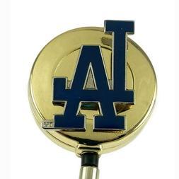 Los Angeles Dodgers Badge Reel Retractable ID Card Holder Se