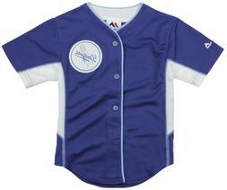 Majestic MLB Baseball Toddler Los Angeles Dodgers Team Jerse