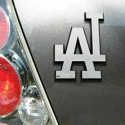 MLB CHROME AUTO EMBLEM - Los Angeles Dodgers