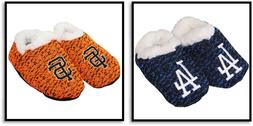 MLB Infant Poly Knit Baby Booties Slipper Shoes