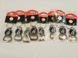 MLB Los Angeles Dodgers Key Ring Bottle Opener Lot Of 8