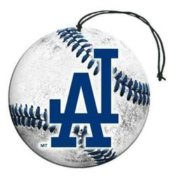 "MLB Los Angeles Dodgers Air Freshener , 3"" Diameter, White"