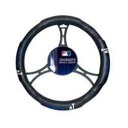 MLB Los Angeles Dodgers Car Truck Suv Synthetic Leather Stee