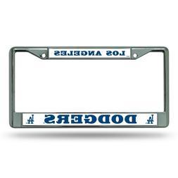 MLB - Los Angeles Dodgers - Chrome License Plate Frame - New