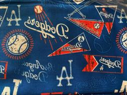 Mlb Los Angeles Dodgers Cotton Fabric By The Yard