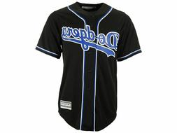 MLB Los Angeles Dodgers Men's Cool Base Custom Black / Royal