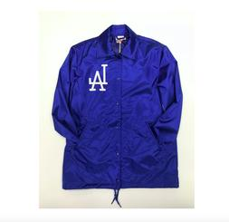 MLB Los Angeles Dodgers Men's Mitchell & Ness Satin Coaches