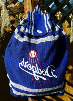 MLB Los Angeles DODGERS Mexican backpack handmade aztec tote