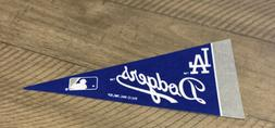 "MLB Los Angeles Dodgers Mini Pennant Flag 4""x9"" NEW Baseball"