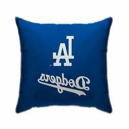 "MLB Los Angeles Dodgers Plush Microfiber 18"" x 18"" Throw Pil"