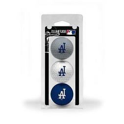 MLB Los Angeles Dodgers Regulation Golf Balls 3 Pack Sleeve