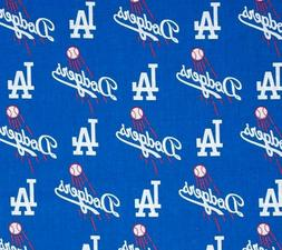 MLB  LOS  ANGELES DODGERS     Window Curtain Valance  56 x 1