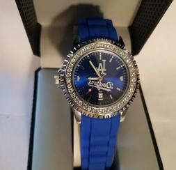 MLB Los Angeles Dodgers Women's Sparkle Watch