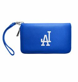 MLB Los Angeles Dodgers Zip Organizer Wallet Pebble *New*