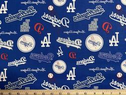 MLB LOS ANGELES LA DODGERS Baseball, Cooperstown 1/4 Yard  C