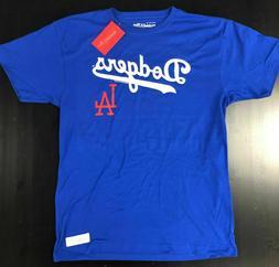 MLB Los Angeles LA Dodgers Mitchell & Ness Tagless Baseball