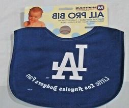 MLB NWT INFANT BABY BIB- BLUE - LOS ANGELES DODGERS