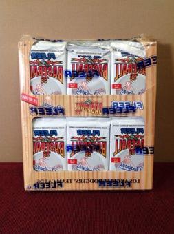NEW 36 SEALED PACKS OF 1996 L.A. Dodgers FLEER TEAM SET MLB